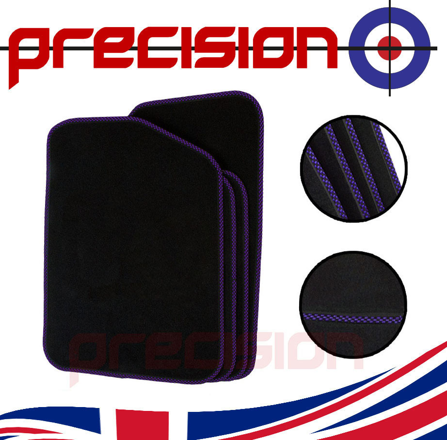 Black-Business-Carpet-Car-Mats-with-Sports-Check-for-AUDI-A4-2002-2008