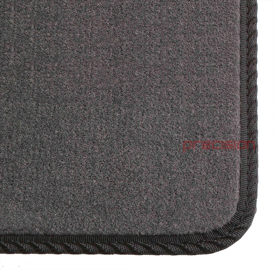 Grey-Business-Class-Car-Mats-with-Black-Solid-for-MAZDA-6-MK2-2007-2009 thumbnail 3