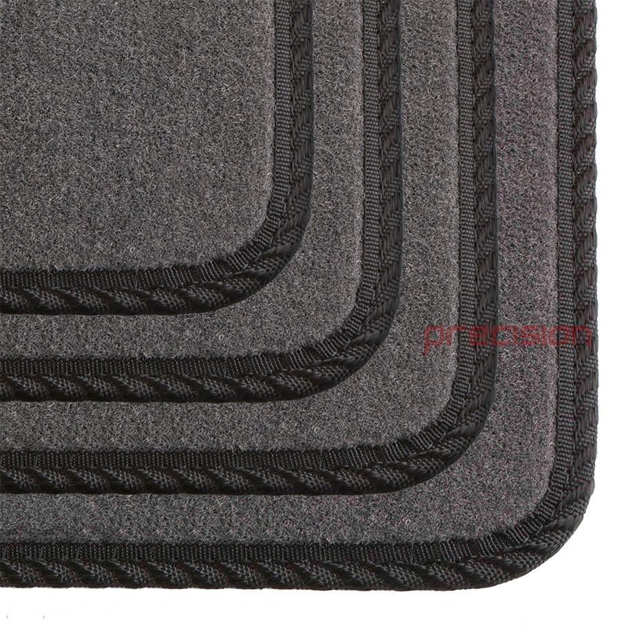 Grey-Business-Class-Car-Mats-with-Black-Solid-for-MAZDA-6-MK2-2007-2009 thumbnail 4