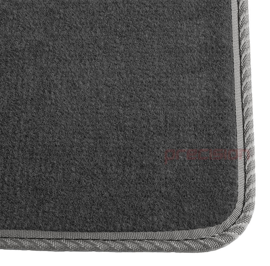 Grey-Business-Class-Car-Mats-with-Grey-Solid-for-FIAT-PUNTO-MK1-93-99 thumbnail 3