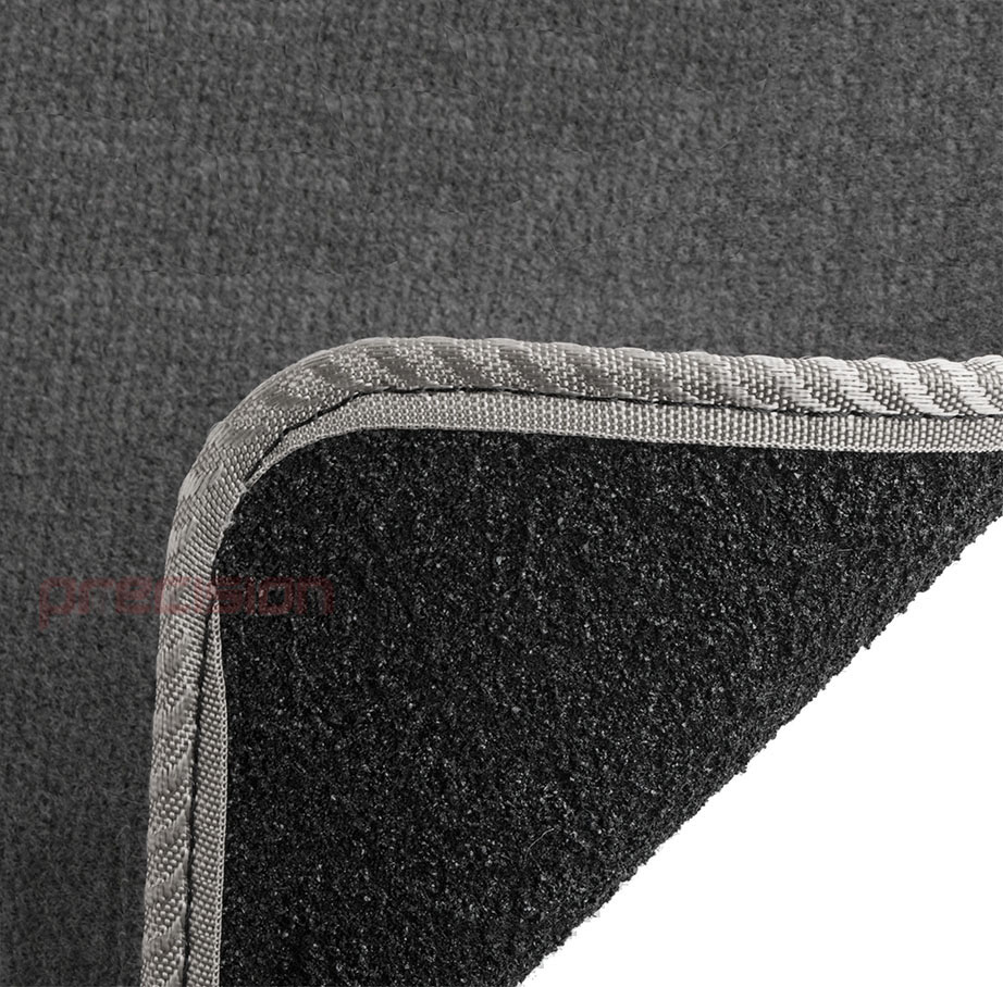 Grey-Business-Class-Car-Mats-with-Grey-Solid-for-FIAT-PUNTO-MK1-93-99 thumbnail 5
