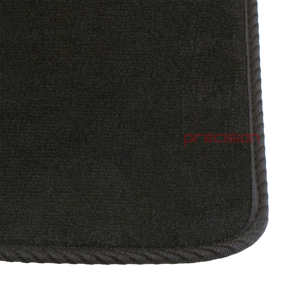 Black-Business-Class-Car-Mats-with-Black-Solid-for-TOYOTA-YARIS-5DR-02-06 thumbnail 3