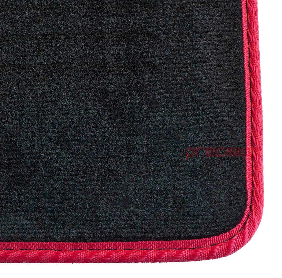Black-Business-Carpet-Car-Mats-with-Red-Solid-for-LEXUS-GS450H-06-12 thumbnail 3
