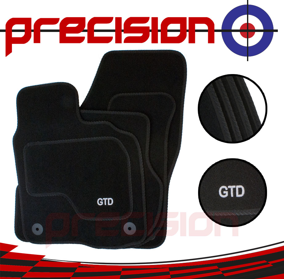 Fitted-Tailored-Car-Mats-with-GTD-Logo-for-VW-Golf-Mk6-2008-2013