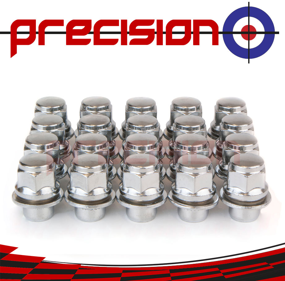 20-Wheel-Nuts-for-Toyota-Previa-Genuine-Alloys