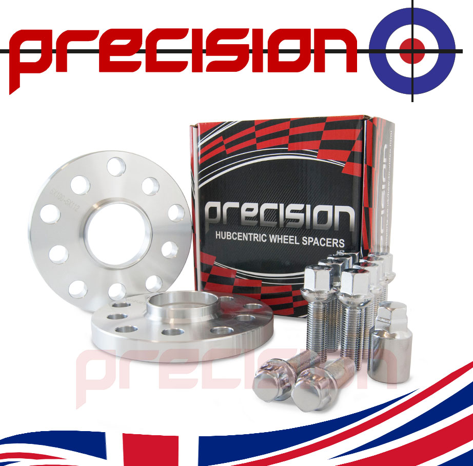 Audi-80-Spacers-1pr-15mm-with-Bolts-Nuts-and-Locking-Bolts-Nuts-for-OEM-Alloys
