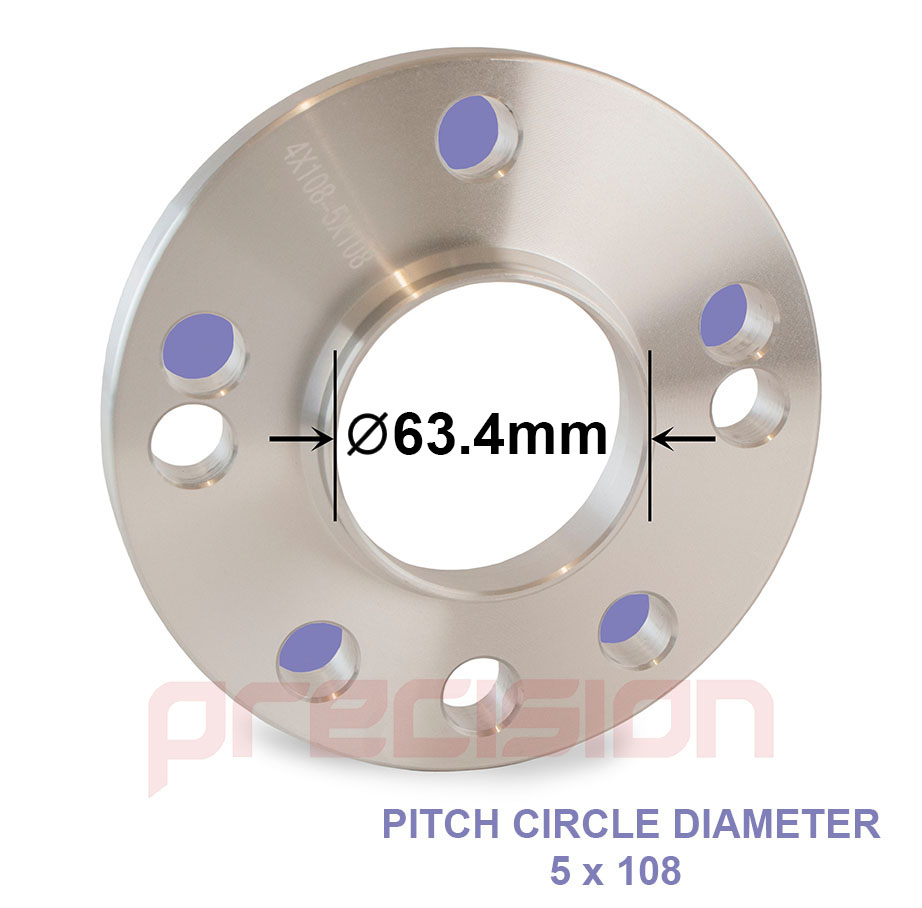 1-Pair-of-Hubcentric-15mm-Alloy-Wheel-Spacers-for-Ford-Fiesta thumbnail 3