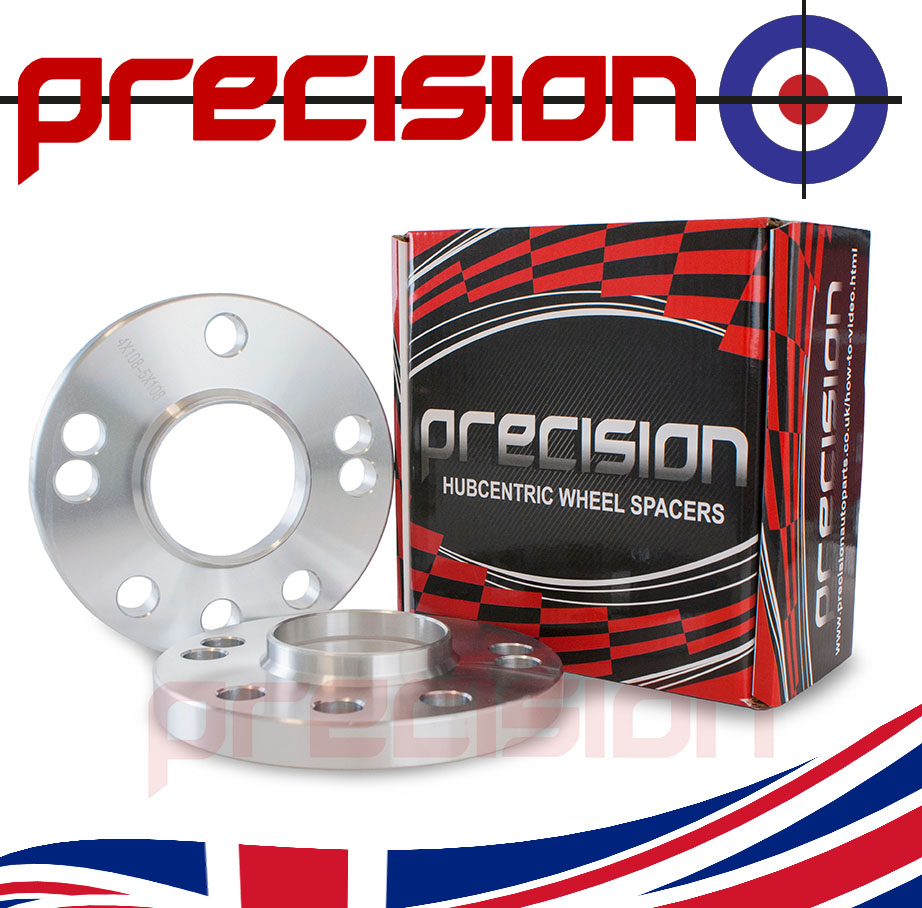 1-Pair-of-Hubcentric-15mm-Alloy-Wheel-Spacers-for-Ford-Fiesta