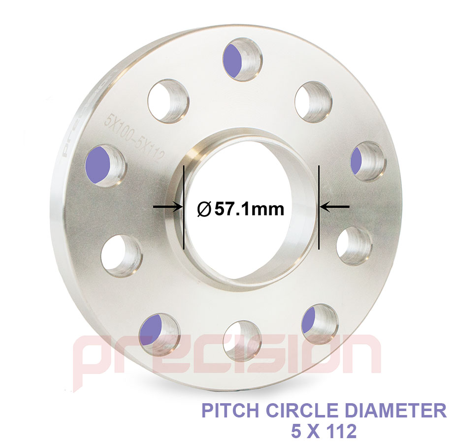Spacers-20mm-Hubcentric-1-Pair-Bolts-Nuts-Audi-A4-B6-Aftermarket-Alloys thumbnail 2