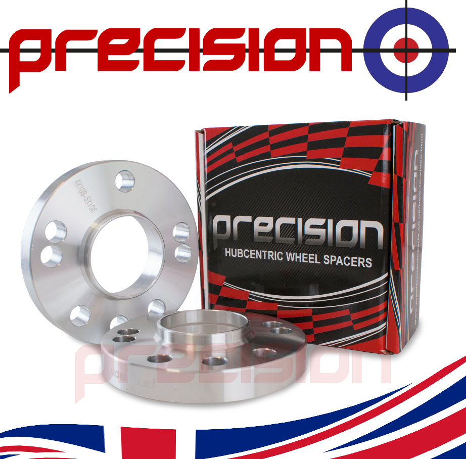 1-Pair-of-Hubcentric-20mm-Alloy-Wheel-Spacers-for-Jaguar-XF