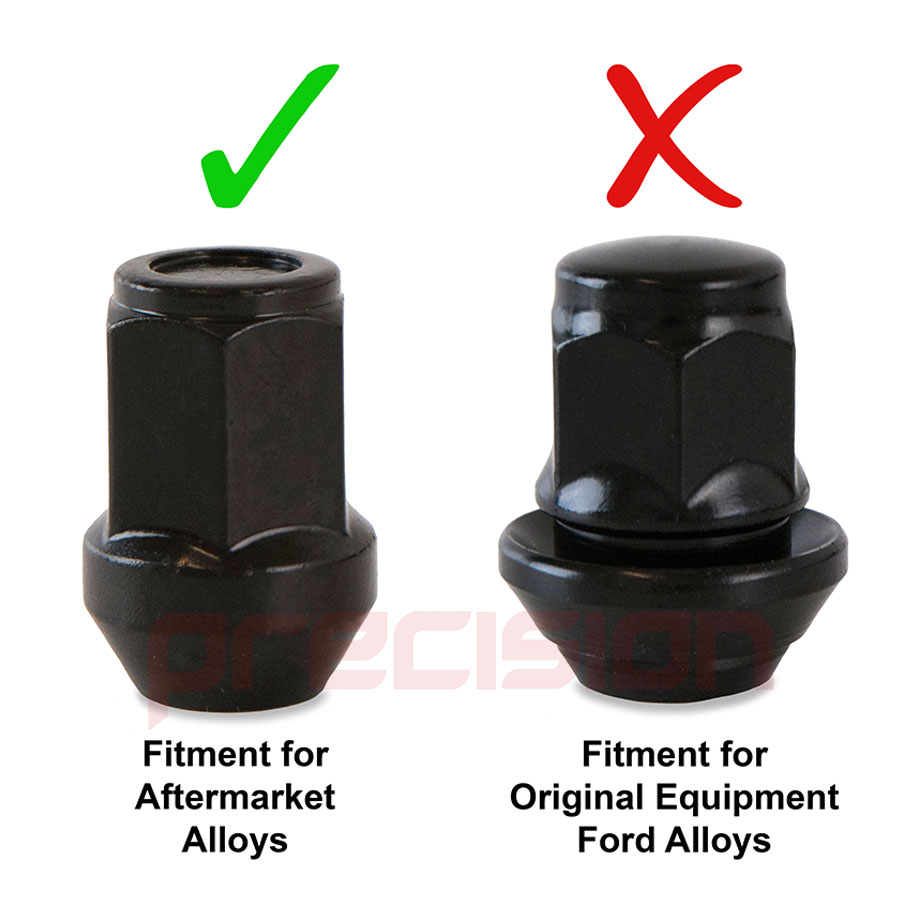 thumbnail 7 - 20-Black-Wheel-Nuts-for-Aftermarket-Toyota-MR2-MK2-Alloy-Wheels