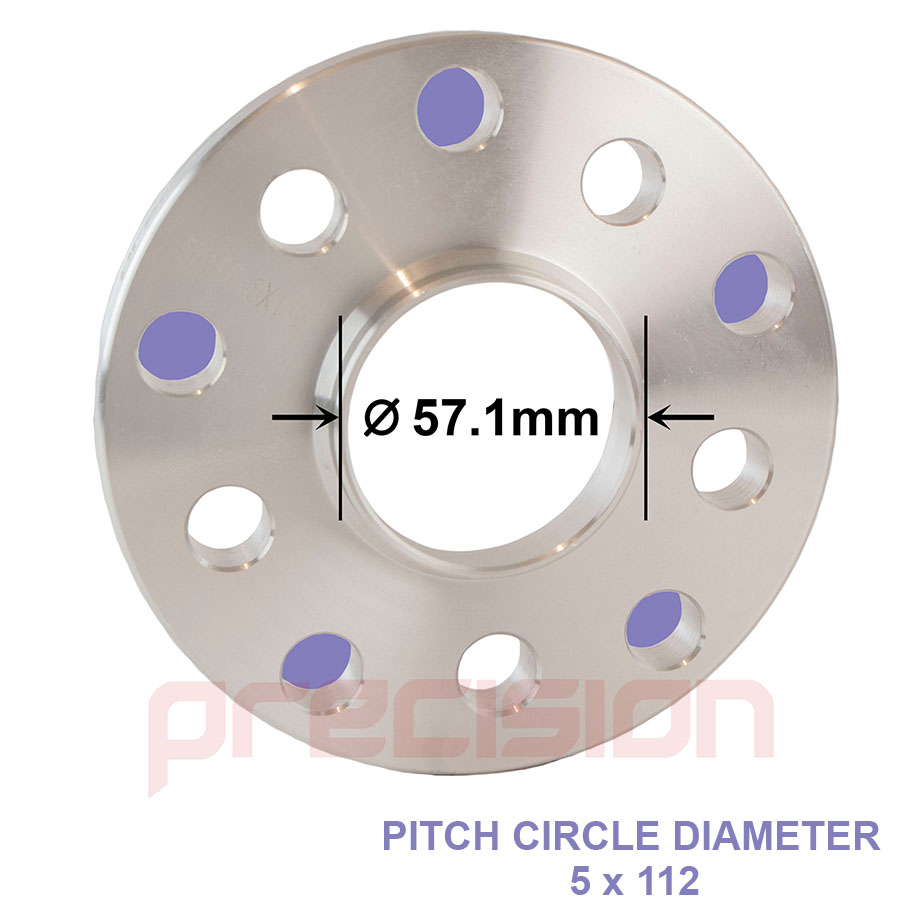 Wheel-Spacers-15mm-Hubcentric-2-Pair-for-Audi-TT-Roadster-1999-2006 thumbnail 2