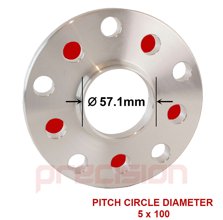Wheel-Spacers-15mm-Hubcentric-2-Pair-for-Audi-TT-Roadster-1999-2006 thumbnail 3