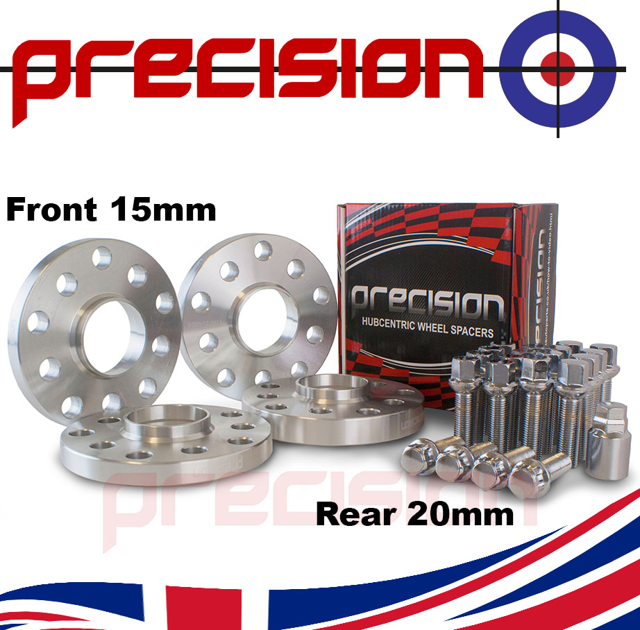 Staggered-Wheel-Spacers-15-20mm-with-Bolts-Nuts-and-Locks-for-OEM-VW-Golf-Alloys
